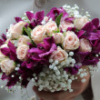 Bride bouquet for marriage — Stok Fotoğraf #25722151