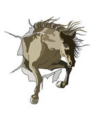 Horse-favorite — Stock Vector