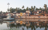 Koti Tirtha sacral pond — Stock Photo