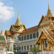 Постер, плакат: View of the Royal Monastery of the Emerald Buddha