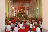 Temple in Thailand (indoor) — 图库照片