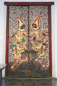 Kolorowe bramą świątyni — Zdjęcie stockowe