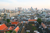 Tiled roofs in Bangkok — Stock Photo