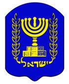 Emblem of Israel. — Stock Photo