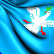 Flag of Salvador, Brazil. — Stockfoto #23026514