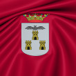 Flag of Albacete, Spain. — Stock fotografie #23366598