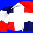 Flag of Dominican Republic — Photo