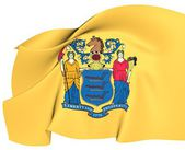 Flag of New Jersey, USA. — Stock Photo