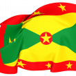 Flag of Grenada — Stock fotografie