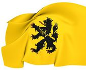 Flag of Hulst, Netherlands. — Stock Photo
