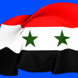 Flag of Syria — Stock Photo