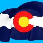 Flag of Colorado, USA. — Stock Photo #25088725