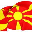 Flag of Macedonia — 图库照片
