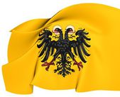 Holy Roman Empire Flag (1400-1806) — Stock Photo