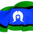 Torres Strait Islanders Flag — Stock Photo #25402413