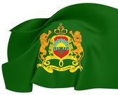Morocco Royal Standard — Stock Photo
