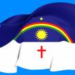 Flag of Pernambuco, Brazil. — Stock Photo