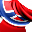 Flag of Norway — Stock Photo