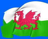 Flag of Wales — Foto de Stock
