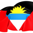 Flag of Antigua and Barbuda — Stock Photo