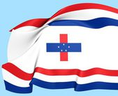 Governor of the Netherlands Antilles Flag — Stok fotoğraf
