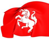 Flag of Twente, Netherlands. — Stock Photo