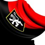 Flag of Aosta Valley, Italy. — Stock Photo #27392315