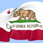 Flag of California, USA. — Stock Photo #27703395