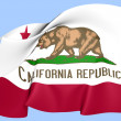 Flag of California, USA. — Stock Photo #27703395