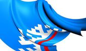 Yamalo-Nenets Autonomous Okrug Flag, Russia. — Stock Photo