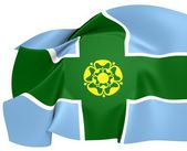 Vlag van derbyshire — Stockfoto