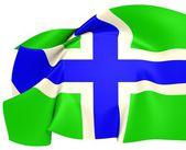 Gloucestershire Flag — Stock Photo