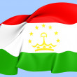 Flag of Tajikistan — Stock Photo #28135329