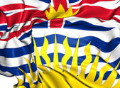Flag of British Columbia, Canada. — Stock Photo
