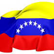 Civil Ensign of Venezuela — Stock Photo #29479211