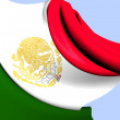 Flag of Mexico — Stock Photo #30062645