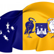 Stock Photo: AustraliCapital Territory Flag