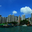 Stock Photo: View of Hong Kong