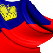 Flag of Liechtenstein — Stock Photo