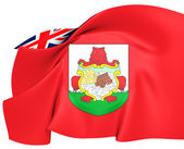 Flag of Bermuda — Foto Stock