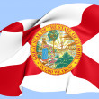 Flag of Florida — Stock Photo