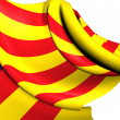 Balearic Islands Flag — Stock Photo