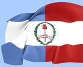 Flag of Entre Rios — Stock Photo