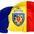 Flag of Bucharest — Stock Photo #37230295