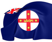 Flag of New South Wales — Stock Photo