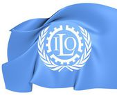 Flag of ILO — Stock Photo