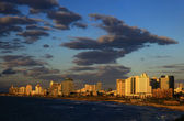 Tel Aviv, Israel. Sunset. — Stock Photo