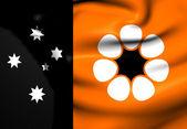 Flag of Northern Territory, Australia. — Stock Photo