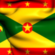 Stock Photo: Flag of Grenada