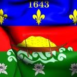 Постер, плакат: Unofficial Flag of French Guiana